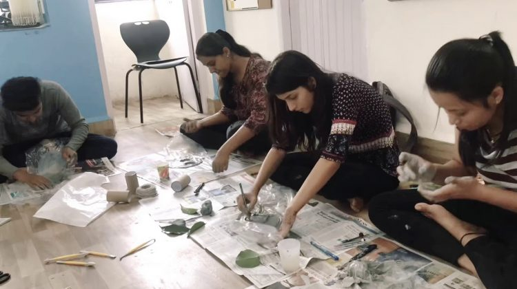 Ideaa Institute of Design Conducts Clay Modelling Class